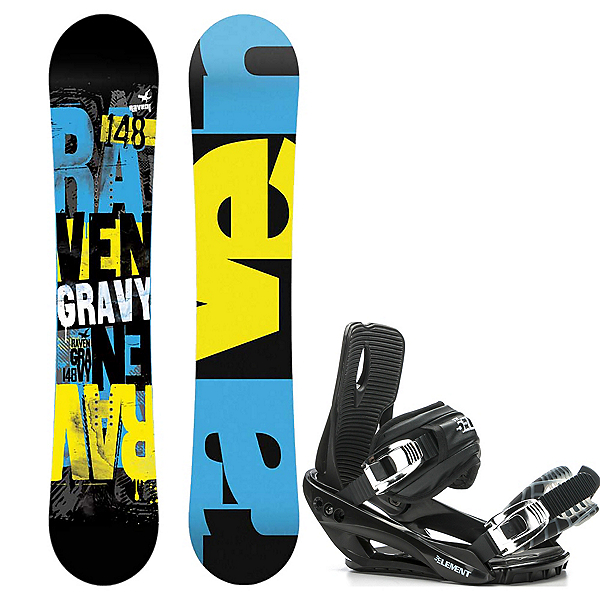 Raven Gravy Wide and 5th Element Stealth 3 Binding Package 2016, , 600