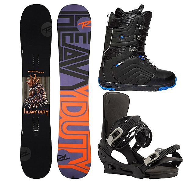 Rossignol Jibsaw Heavy Duty Complete Snowboard Package 2019, , 600