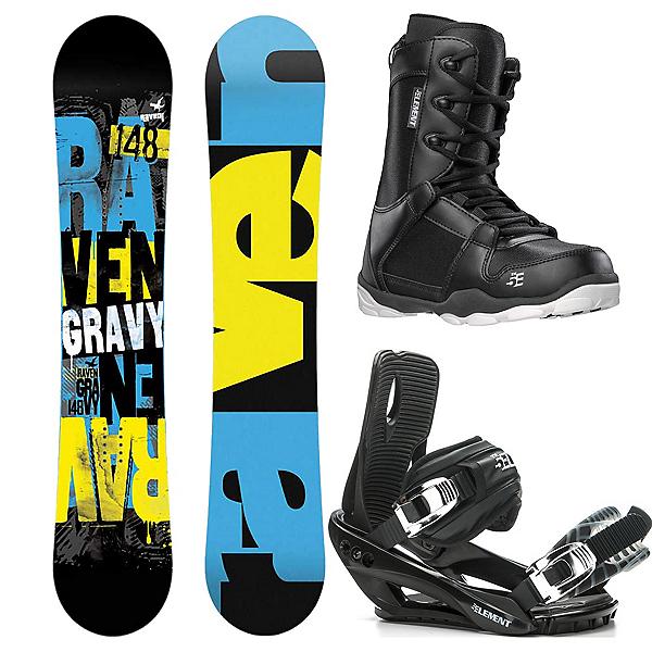 Raven Gravy Complete Snowboard Package 2016, , 600