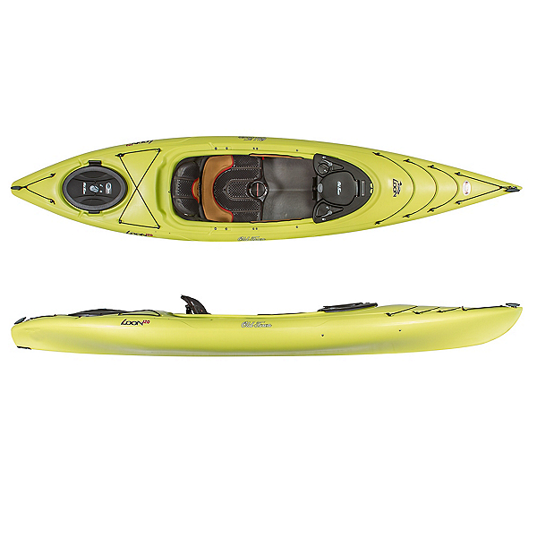 Old Town Loon 120 Kayak, Lemongrass, 600