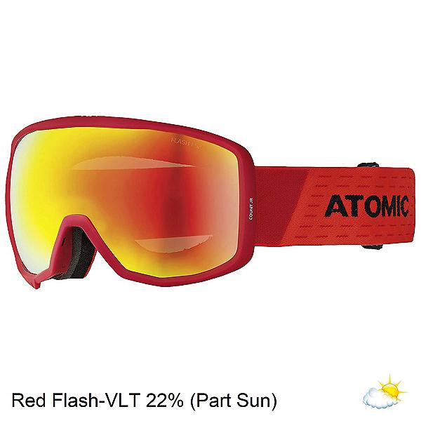 Atomic Count Jr. Spherical Kids Goggles 2020, Red-Black, 600