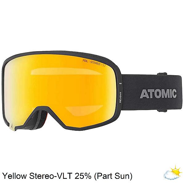 Atomic Revent Stereo OTG Goggles 2020, Black-Blue Stereo, 600