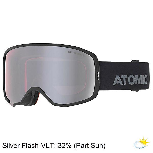 Atomic Revent Goggles 2020, Black-Silver Flash, 600