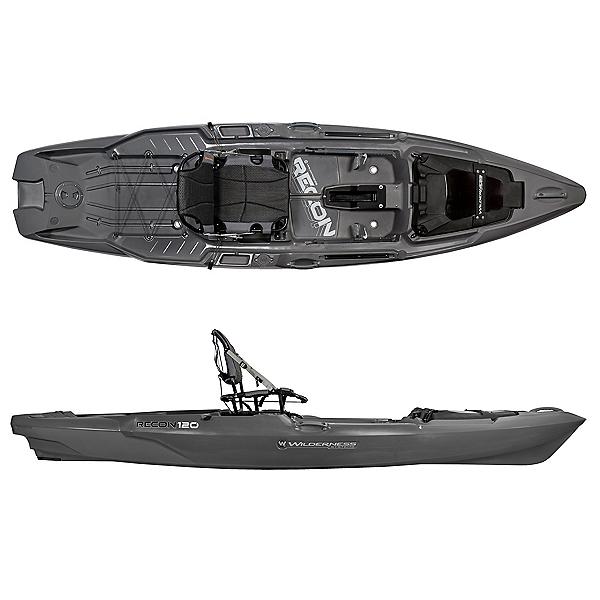 Wilderness Systems Recon 120 Kayak, Steel Grey, 600