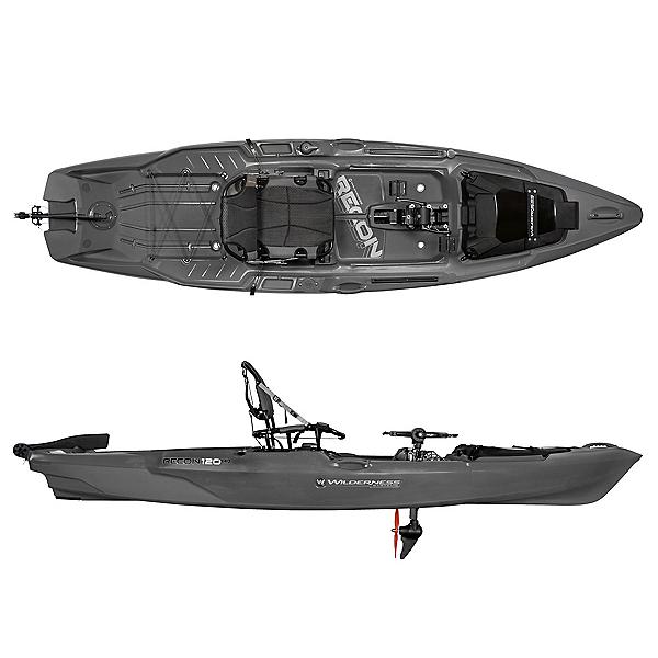 Wilderness Systems Recon 120 HD Kayak, Steel Grey, 600