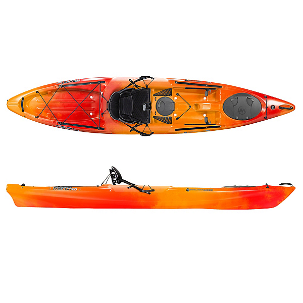 Wilderness Systems Tarpon 120 Sit On Top Kayak, Mango, 600