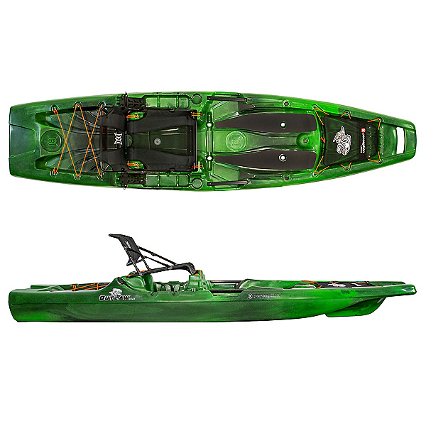 Perception Outlaw 11.5 Kayak, Moss Camo, 600
