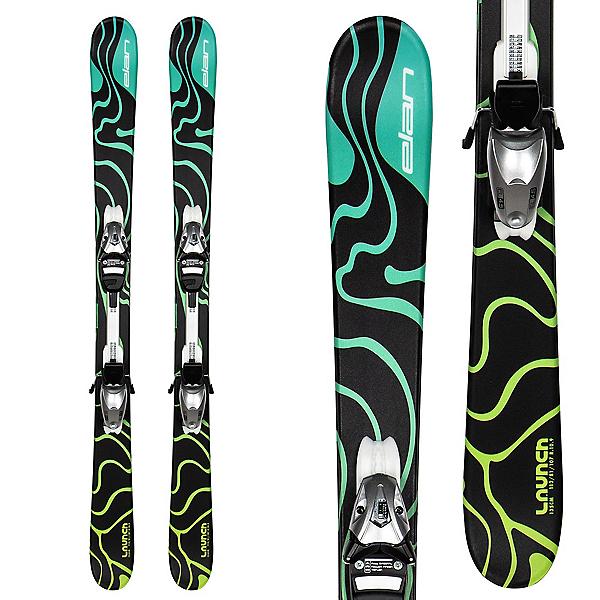Elan Launch QT Kids Skis with EL 4.5 GW Shift Bindings, , 600