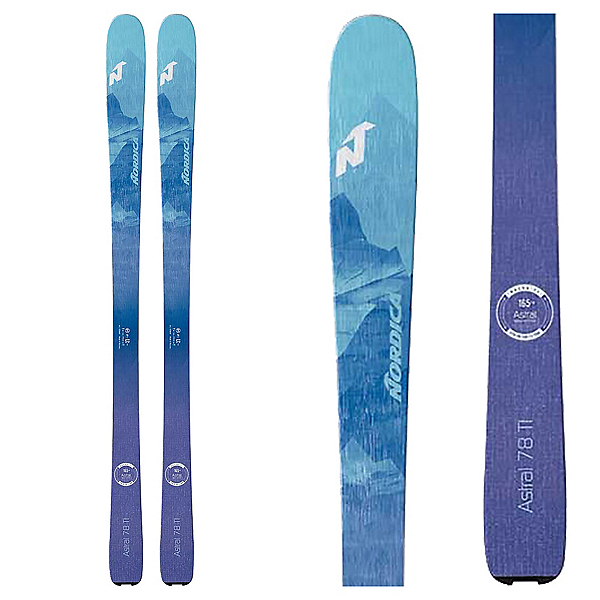 Nordica Astral 78 Womens Skis 2020, , 600