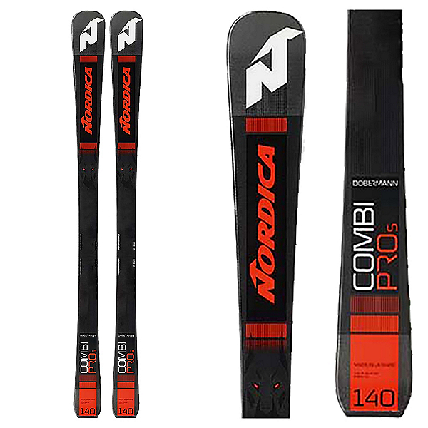 Nordica Dobermann Combi Pro S Junior Race Skis 2020, , 600