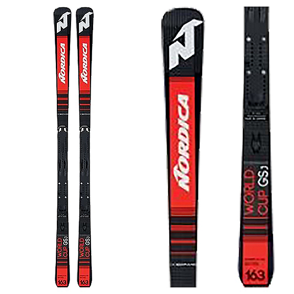 Nordica Dobermann GSJ Plate Junior Race Skis 2019, , 600