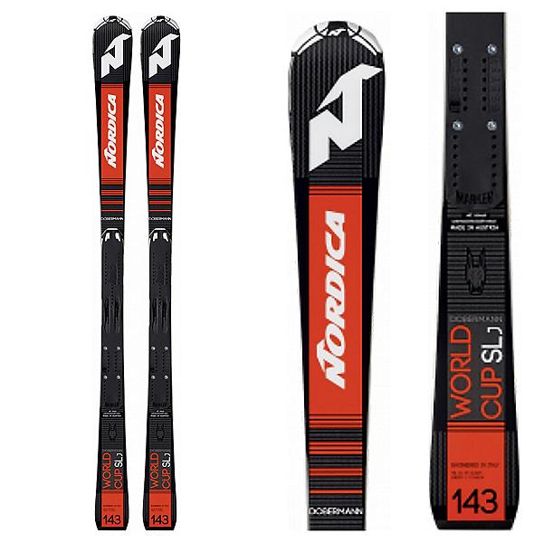 Nordica Dobermann SLJ Plate Junior Race Skis 2020, , 600