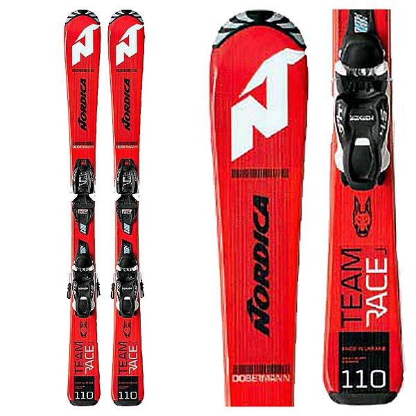 Nordica Team Junior Race Skis with JR 4.5 FDT Bindings 2020, , 600