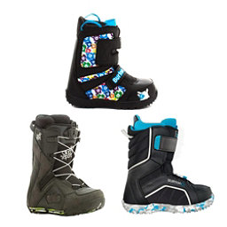 Used Premium Lace Boys Snowboard Boots Snowboard Boots, , 256
