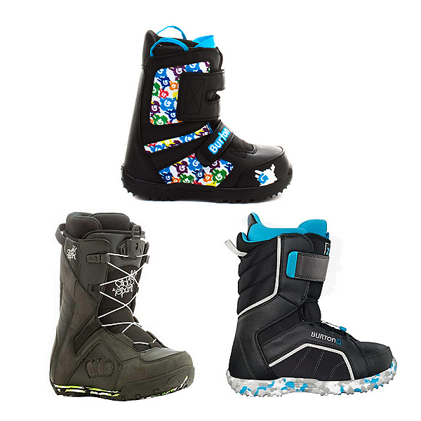 Used Premium Lace Boys Snowboard Boots Snowboard Boots, , 600