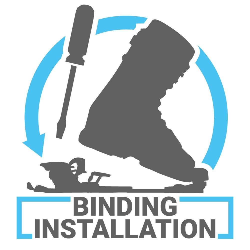 Ski Binding Installation im test