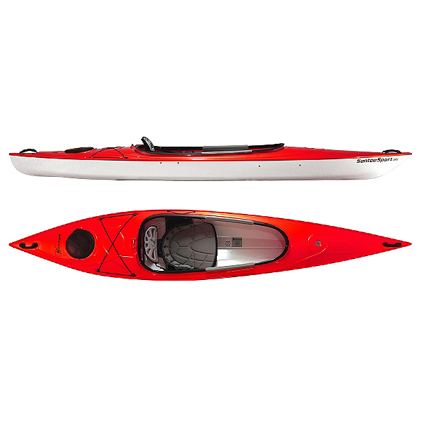 Hurricane Santee 116 Sport Kayak, Red, 600