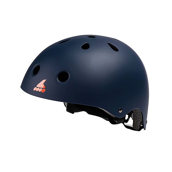 Rollerblade RB Jr Boys Skate Helmet, Midnight Blue-Orange, 600