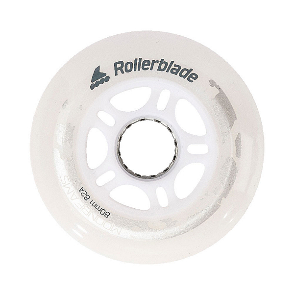 Rollerblade Moonbeam 80mm/82A - 4 Pack Inline Skate Wheels, , 600