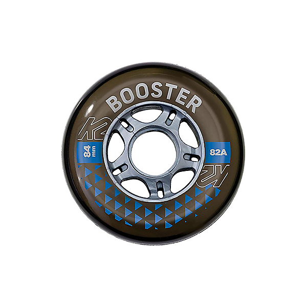 K2 K2 Booster 84mm/82A - 8 Pack Inline Skate Wheels with ILQ 7 Bearings, , 600