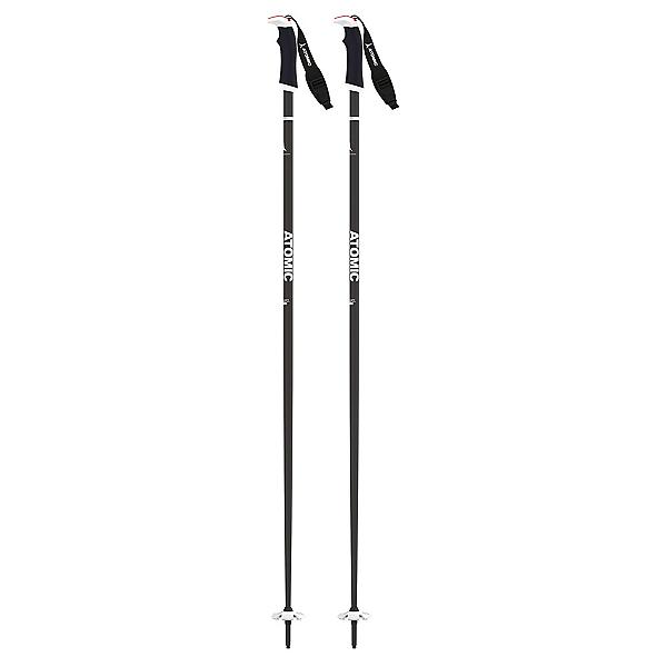 Atomic AMT SQS Ski Poles, Black-White, 600
