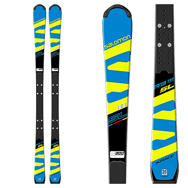 Salomon X-Race Lab Race Skis with X-12 Lab Bindings 2018, , 600