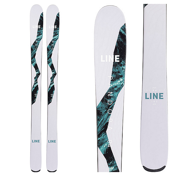 Line Pandora 94 Womens Skis 2022, , 600