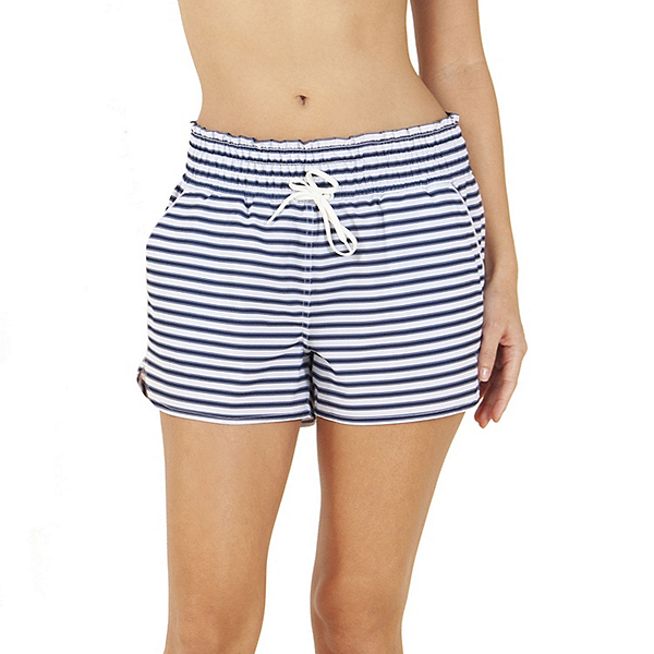 Carve Designs Bali Womens Hybrid Shorts, Dash Stripe, 600