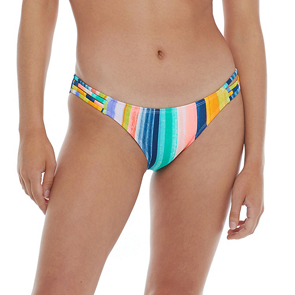 Body Glove Havana Nights Flirty Surf Rider Bathing Suit Bottoms, , 600