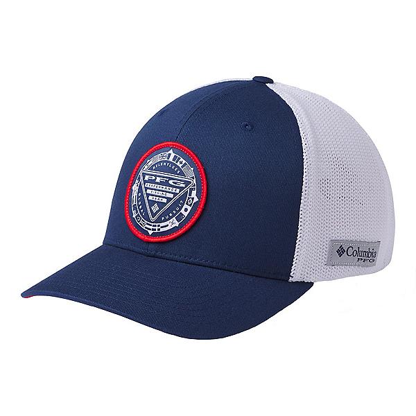 Columbia PFG Mesh Seasonal Hat, Carbon-White-Usa, 600
