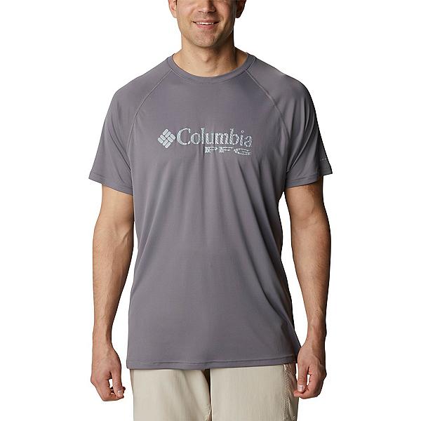 Columbia PFG Respool Knit Mens T-Shirt, City Grey, 600