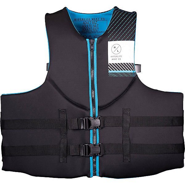 Hyperlite Indy Big and Tall Neo Adult Life Vest, , 600
