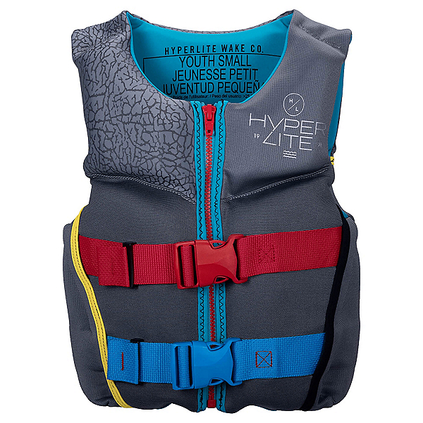 Hyperlite Indy Neo Junior Life Vest, Grey, 600