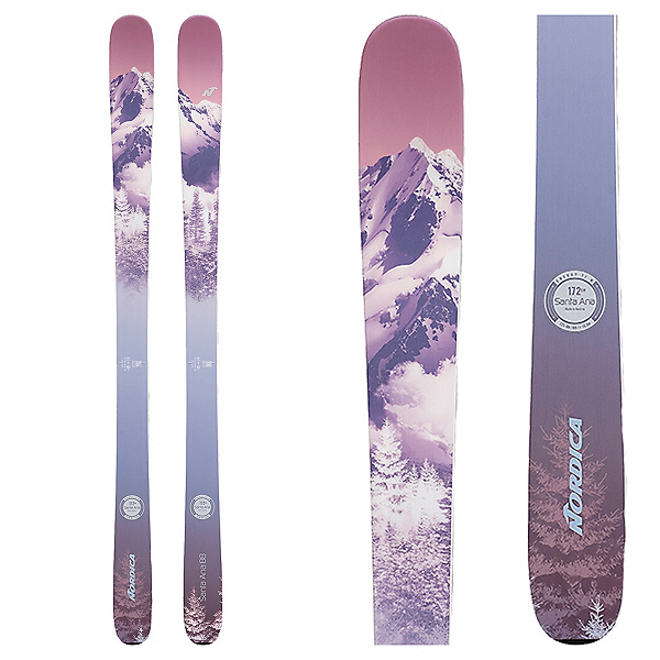 Nordica Santa Ana 88 Womens Skis 2022, , 600