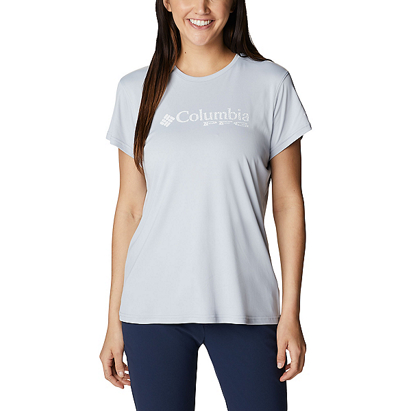Columbia PFG Respool Knit Womens T-Shirt, Cirrus Grey, 600
