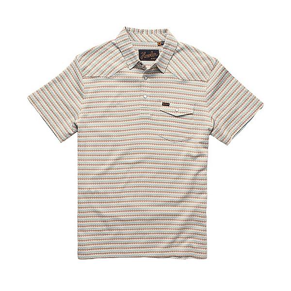 Howler Brothers Ranchero Jacquard Polo Mens Shirt, , 600