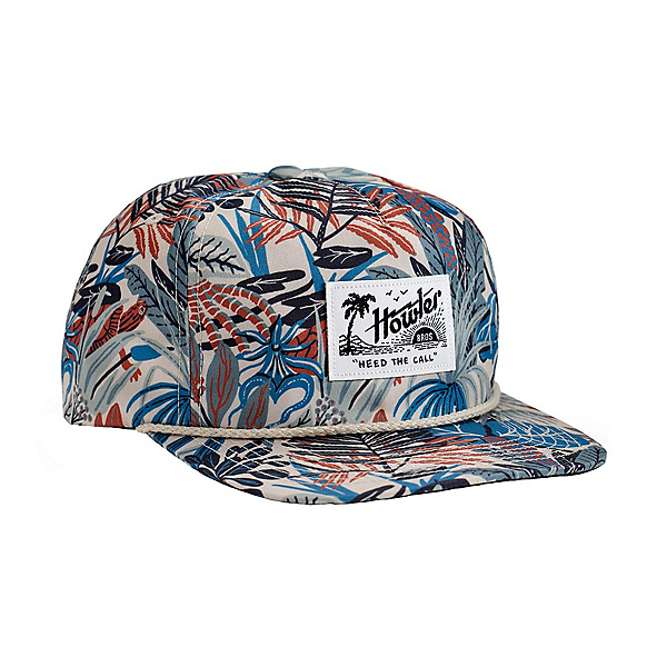 Howler Brothers Unstructured Snapback Hat, Off White Glades, 600