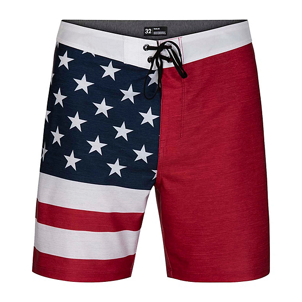 Hurley Phantom Patriot 2.0 Mens Board Shorts, , 600