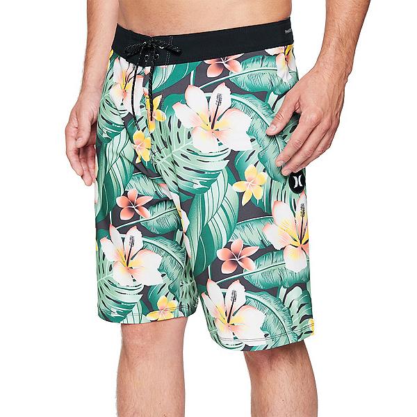 Hurley Phantom Cabana Mens Board Shorts, Oil Grey, 600