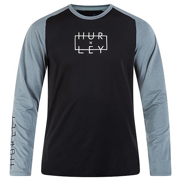 Hurley Graphic Pack Hybrid LS Mens Rash Guard, , 600
