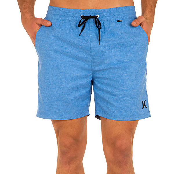 Hurley One and Only Crossdye Volley Mens Hybrid Shorts, Pacific Blue, 600