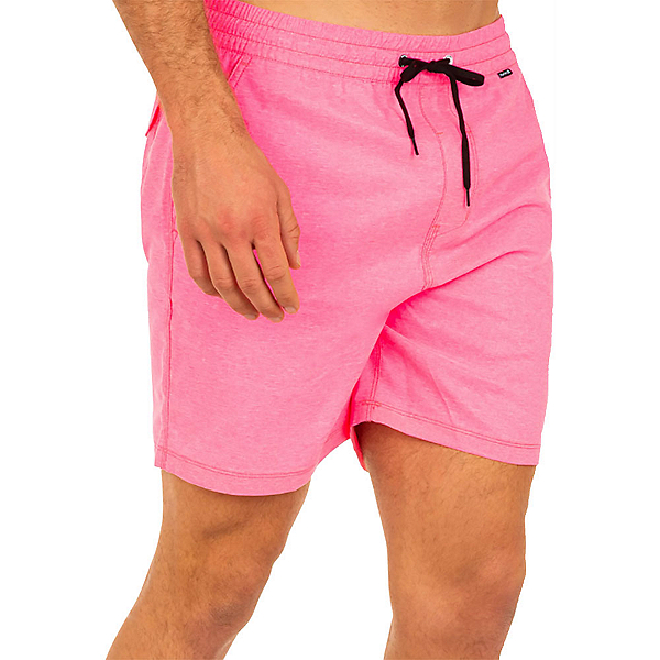 Hurley One and Only Crossdye Volley Mens Hybrid Shorts, Digital Pink, 600