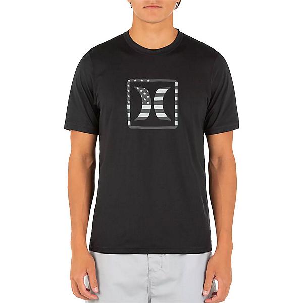 Hurley Americana SS Mens Rash Guard, , 600