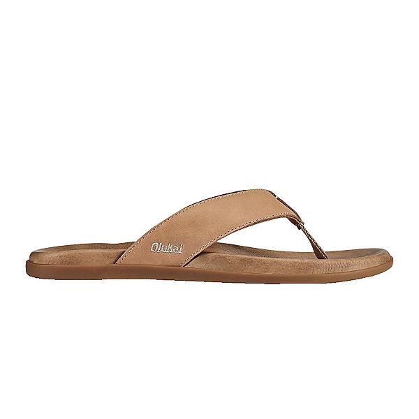 OluKai Nalukai Mens Flip Flops, Golden Sand-Golden Sand, 600