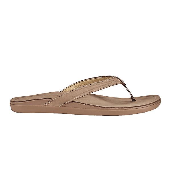 OluKai 'Aukai Womens Flip Flops, Tan-Tan, 600