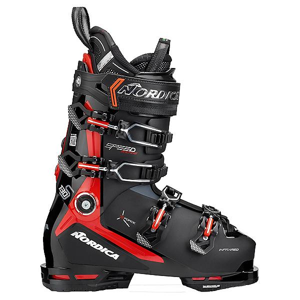 Nordica Speedmachine 3 130 S Ski Boots 2022, Black-Red, 600