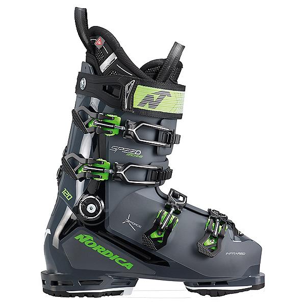 Nordica Speedmachine 3 120 Ski Boots 2022, Gray-Black-Green, 600