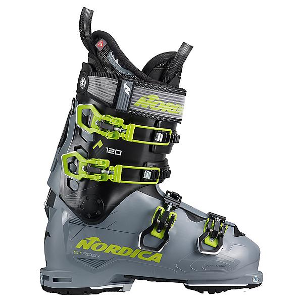 Nordica Strider 120 Ski Boots 2022, Gray-Black-Green, 600