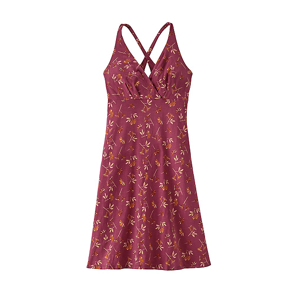 Patagonia Amber Dawn Dress, Quito Multi Star Pink, 600