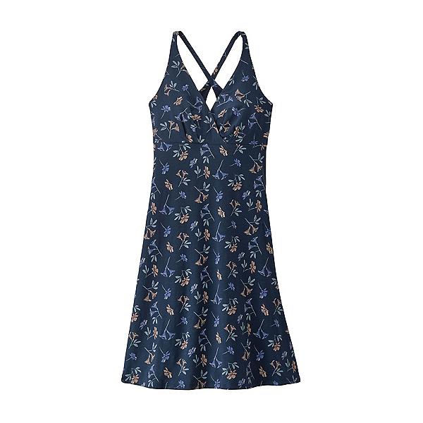 Patagonia Amber Dawn Dress, Quito Multi Tidepool Blue, 600